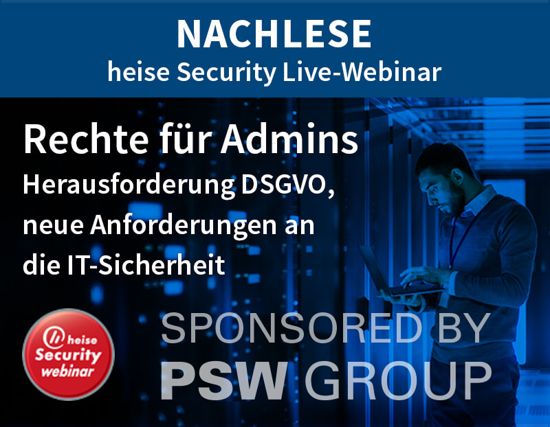 Nachlese heise Security Live-Webinar