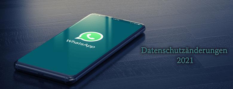 Whatsapp mit neuer Datenschutzregelung